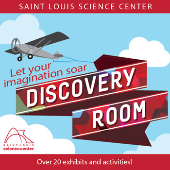 Discovery Room at the Saint Louis Science Center