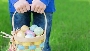 Springtime Village Egg Hunt