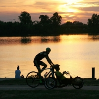 Best bets for family bike trails